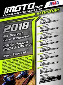 IowaMoto.com 2018 Motocross Schedule